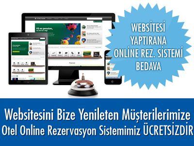 HOTELLERE ÖZEL WEBSİTE KAMPANYAMIZ Web Sitesi Yaptıran Müşterilerimize Otel Online Rezervasyon Sistemimiz ÜCRETSİZ'dir Ayrıntılar İçin : http://www.surrealist.com.tr/kampanyalar/hotellere-ozel-web-site-kampanyasi