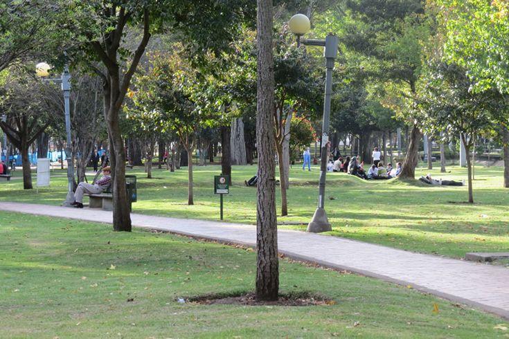 Parque El Virrey Zonas Verdes