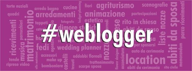 #weblogger - progetto co-blogging Sposarreda.it