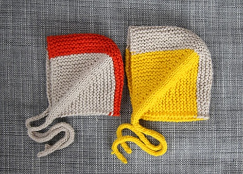 Ravelry: Small and clever - hat, mittens and booties pattern by Anna & Heidi Pickles