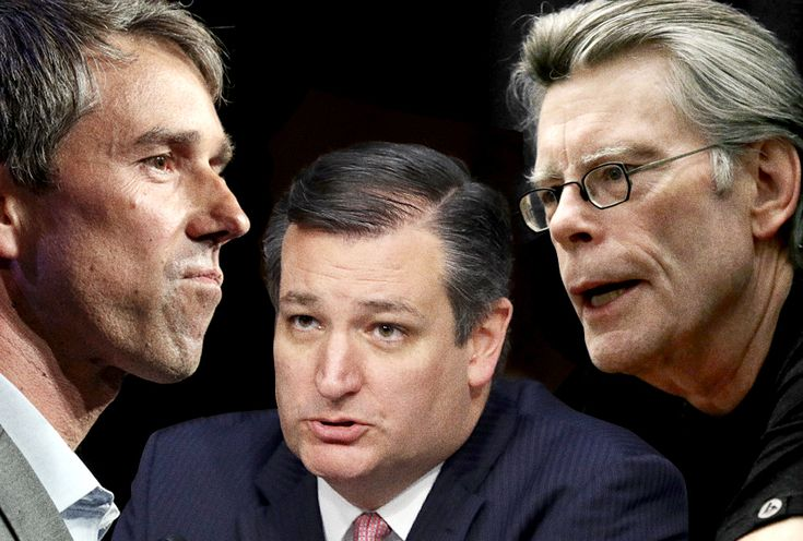 Ted Cruz picks a Twitter fight with Stephen King but won't debate Beto O'Rourke