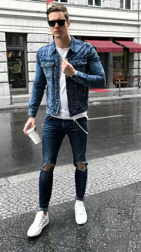 5 Denim On Denim Outfits For Guys In 2019