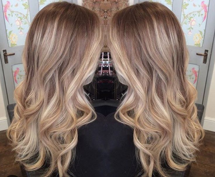 Blonde balayage ombre by Amy Stanger, Nottingham