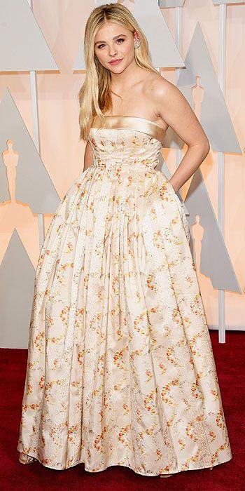 Chloe Grace Moretz, 2015 Akademi Ödülleri kırmızı halı