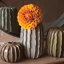 Ceramic cactus vases, wonderful in Southwest decor