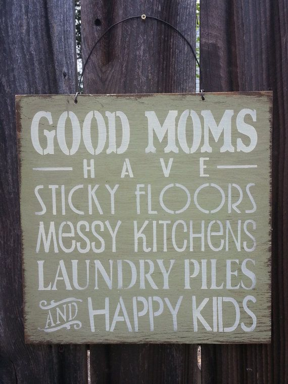 Good Mom Sign gift for mom Mom Saying Mother by FarmhouseChicSigns, $19.95
