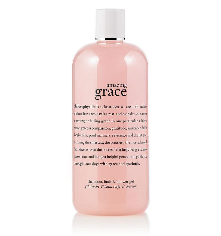 amazing grace | perfumed shampoo, bath & shower gel  | philosophy