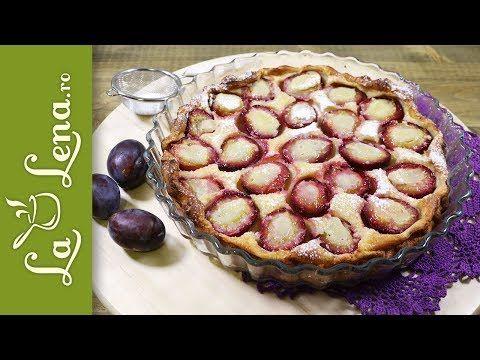 Clafoutis cu Prune - cea mai rapida prajitura cu Prune-VIDEO - LaLena.ro