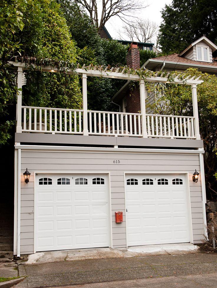 47 Best 2 Story Garage Images On Pinterest Flat Roof