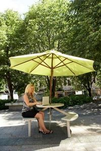 How to Replace the Canopy for an Outdoor Umbrella - Make your own from fabric