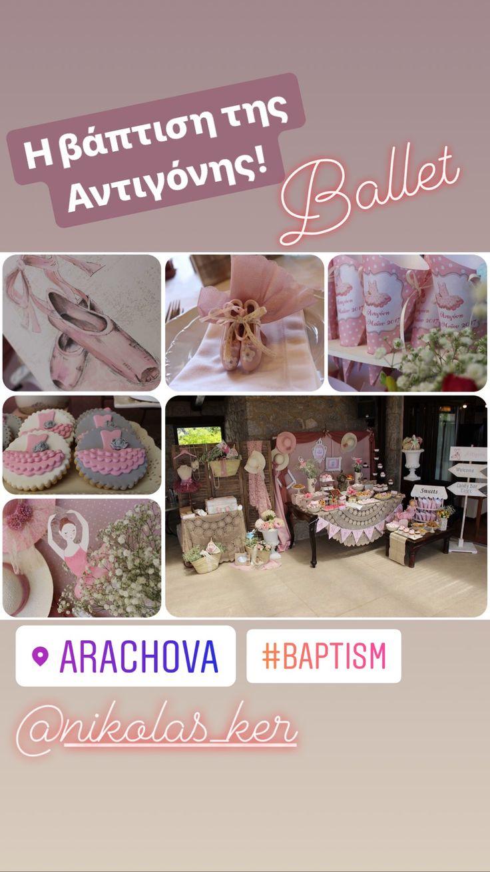 #nikolasker #neaionia #baby #girl #travel #baptism #vaftisi #vaptisi #nea_ionia #athens #greece #decoration #favors #candybar #candytable #cupcakes #sweets #boboniera #events #greekevents #prosklitirio #μπομπονιέρα #lemonadebar #invitation #ballet