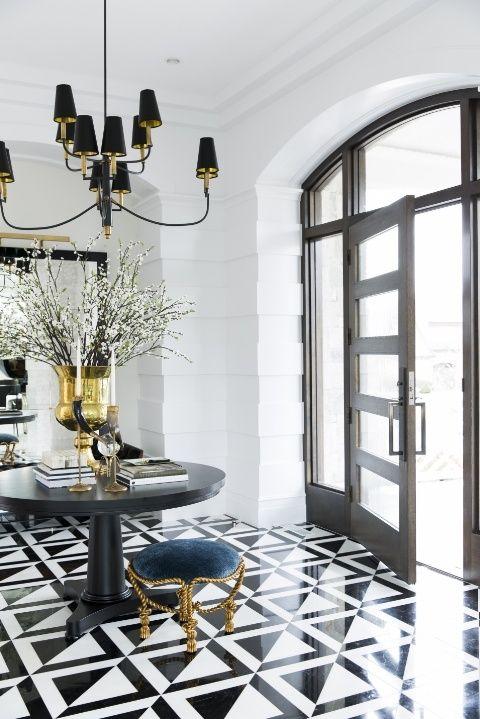 Foyer Area Utah : Best ideas about black white pattern on pinterest