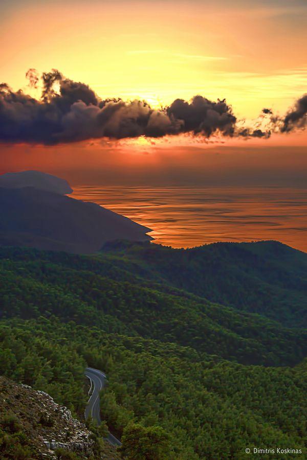 View from Ataviros Rhodes Greece ΙΙ by Dimitris Koskinas, via 500px