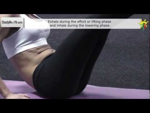 Go left and right & work those abs: lower and side abs exercise
