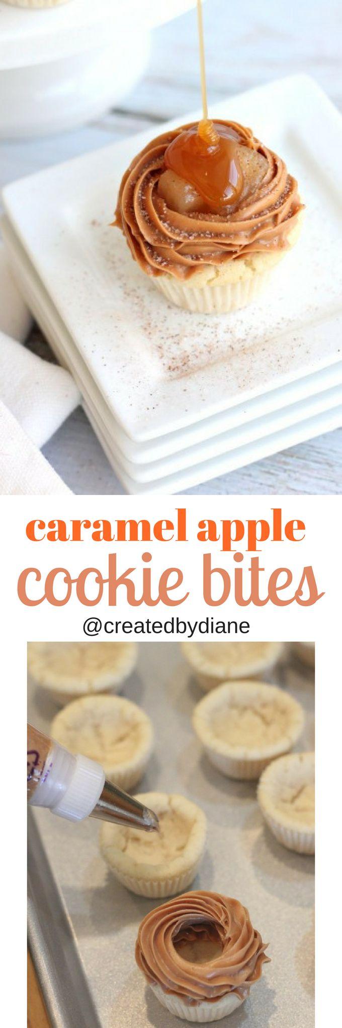 caramel apple cookie bites from @createdbydiane