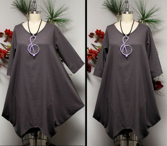 Ultimate Designer Dress Lagenlook Dress Oversize by Dare2bStylish