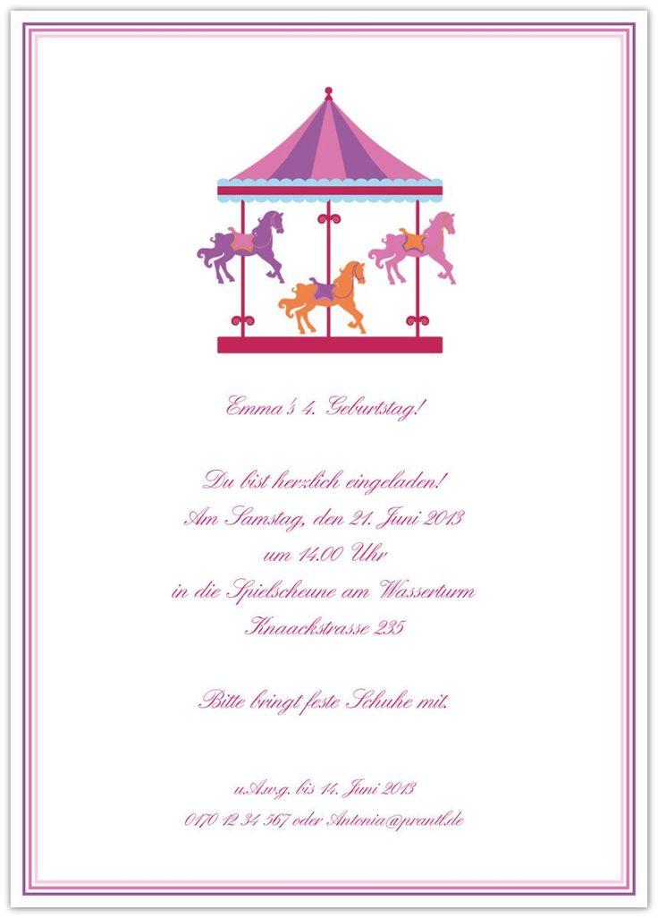 spruch fur kindergeburtstag einladung – cloudhash, Einladung