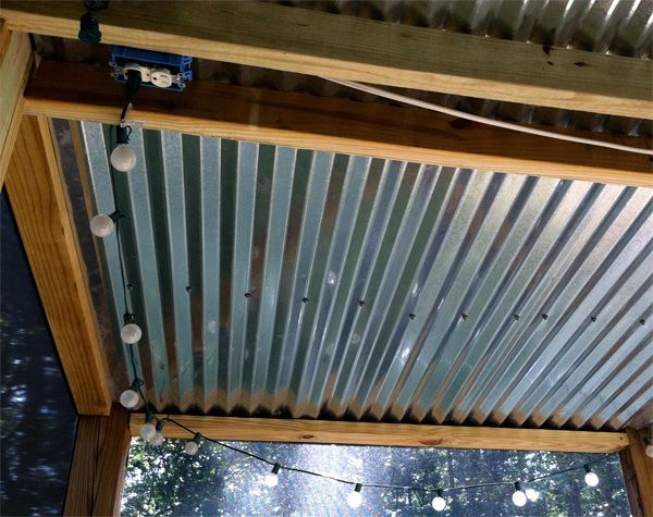 Best 25 screened deck ideas on pinterest covered back for Screen porch roof options