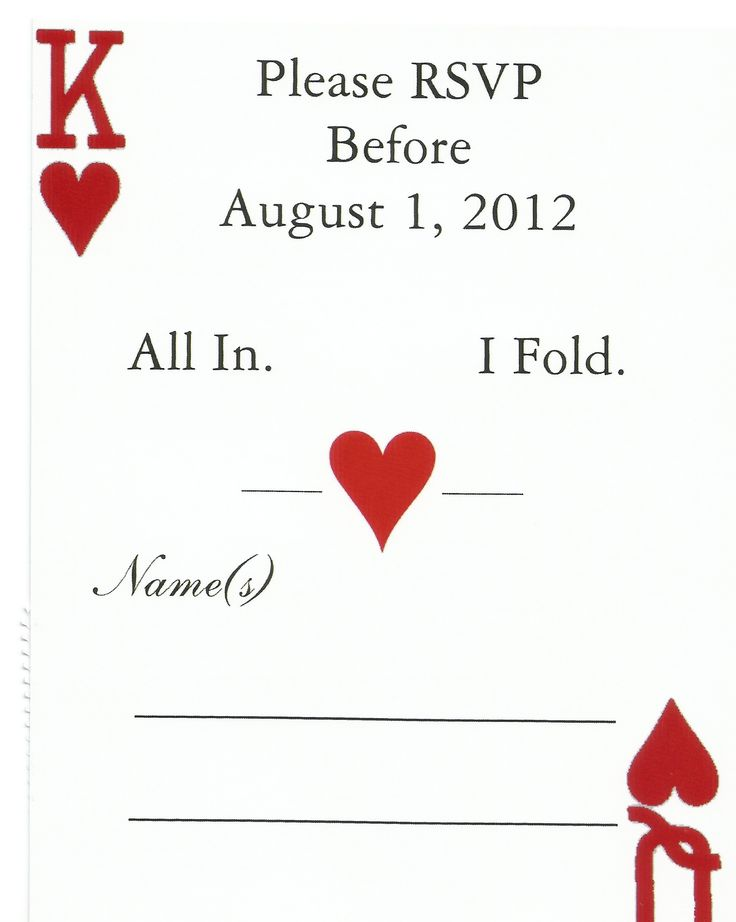 All in... Vegas Wedding Style