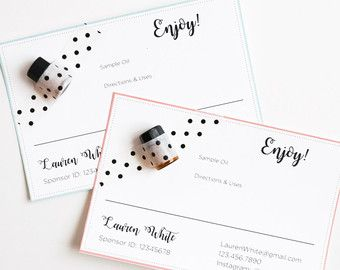 Best 25 Young living business cards ideas on Pinterest Young