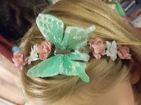 Easy flower headbands