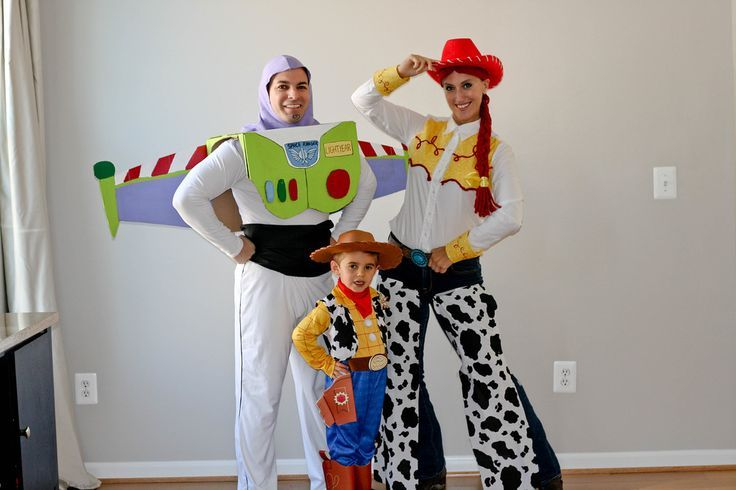 Go to infinity + beyond this Halloween with family Toy Story costumes.