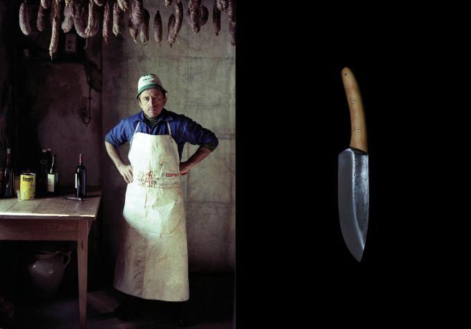 """Malle W. Trousseau - """"Couteau Corse"""" (Corsican Knife)"""