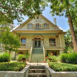 4-story fairtytale mansion reigns in historic San Antonio neighborhood.