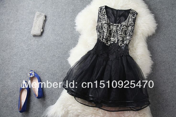 2014 New Design Heavy Vintage Embroidered Waist Vest Skull Print O Neck Sleeveless Women Casual Party Prom Summer Dress $59.99