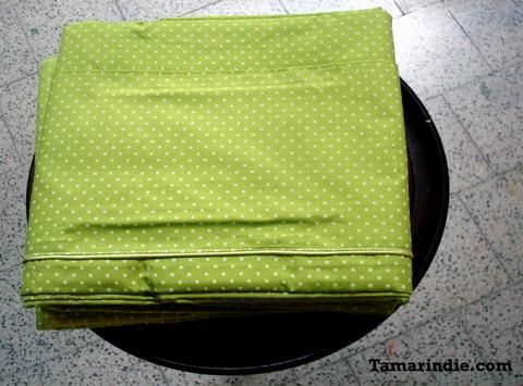 Double Green Bed Sheets Set