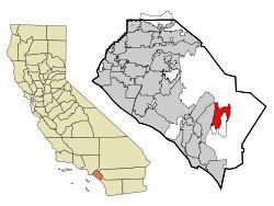 Rancho Santa Margarita within Orange County, California. Wikipedia.
