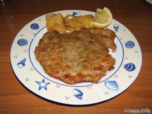 Vitello in crosta di patate e funghi. Scopri la ricetta: http://www.misya.info/2007/12/09/vitello-in-crosta-di-patate-e-funghi.htm