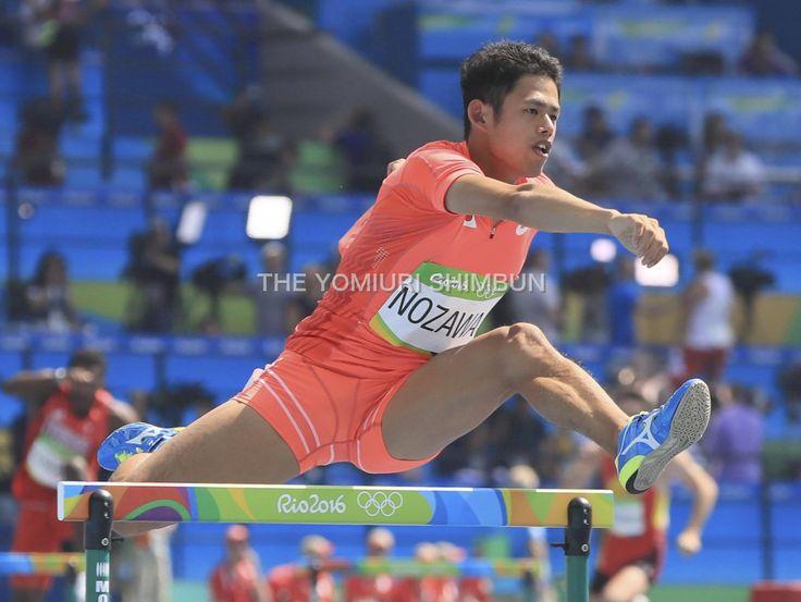 #リオ五輪 #陸上 #男子400メートル障害 予選で、#野沢啓佑 選手(25)が48秒62で準決勝進出を決めました。