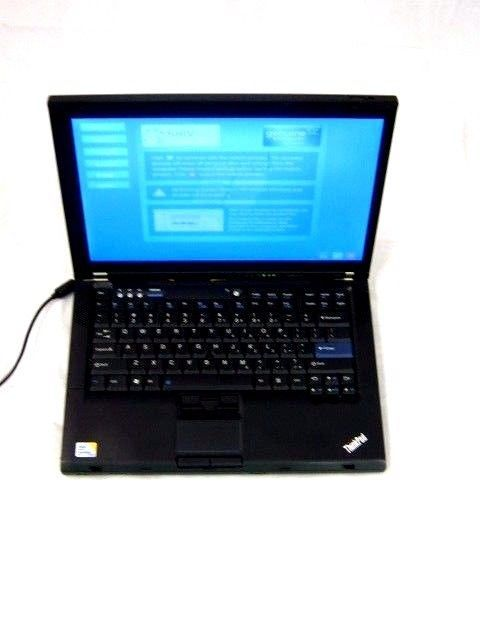 Lenovo Thinkpad T400- Stuck on System Restore-Black #IBM