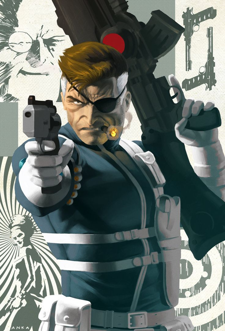 SSC - nick fury by anklesnsocks.deviantart.com on @deviantART