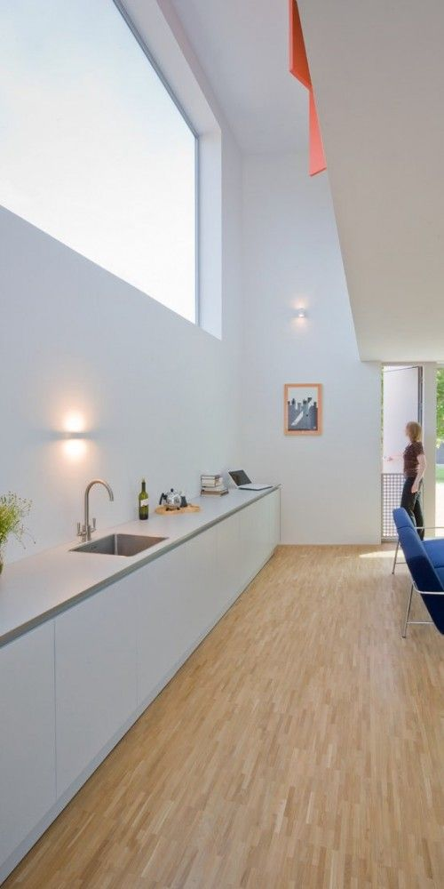 Stripe House is located in Leiden, The Netherlands designed by GAAGA Studio for Architecture