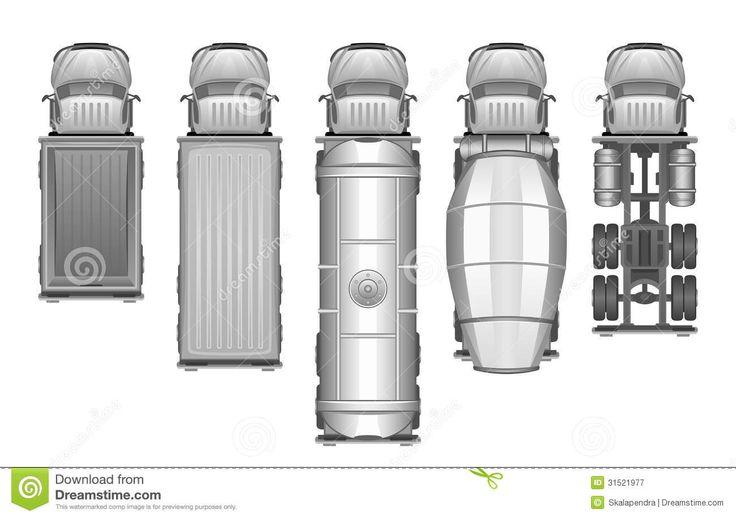 truck-set-white-background-31521977.jpg (1300×915)