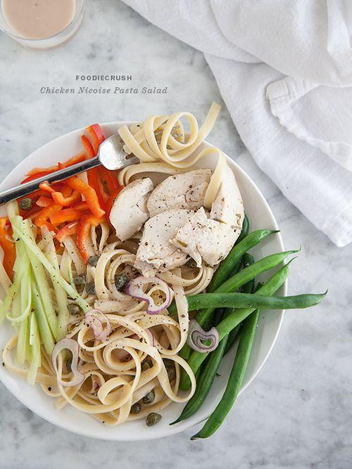 Chicken Nicoise Pasta Salad | Lunch Recipes | Pinterest