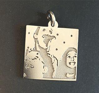 animated bespoke pendant