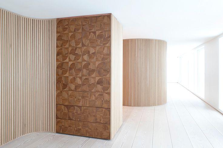 Dinesen Douglas flooring in private Norwegian residence. Design by Schjelderup Trondahl architects.