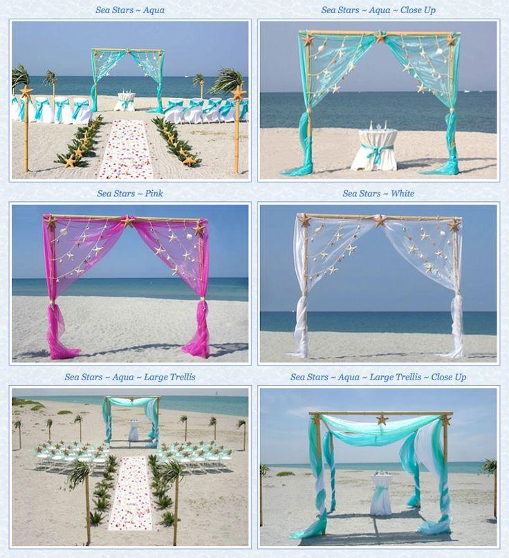 Beach Wedding Altar Ideas: Best 20+ Beach Wedding Arches Ideas On Pinterest