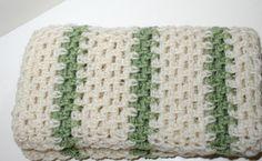 Crochet Afghan Lapghan Wheelchair Lap Blanket by stitcherydoo