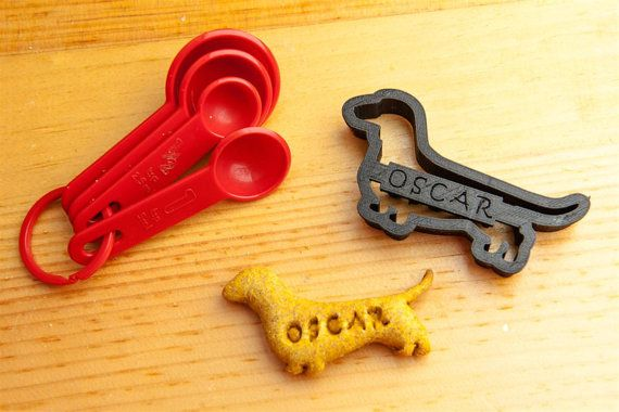 Dachshund Dog Cookie Cutter Custom Treat Personalized Pet    Does your dog deserve their own line of cookies, made just for them? We are