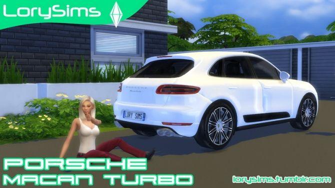 Porsche Macan Turbo at LorySims