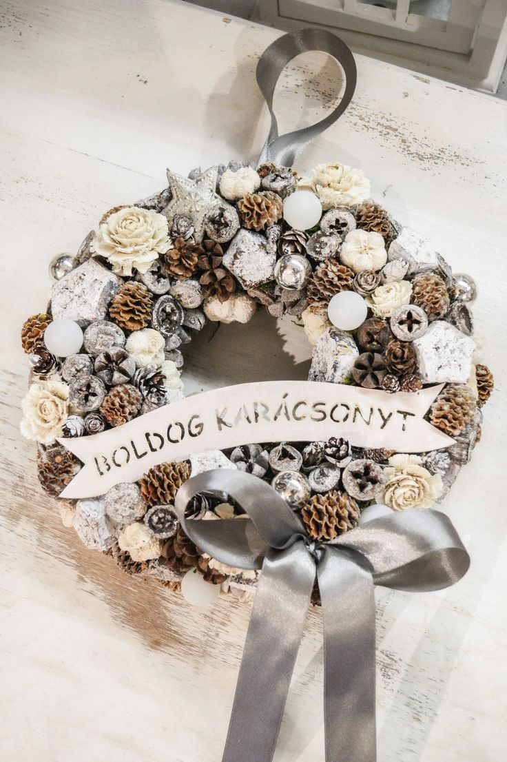 Christmas Wreath / Adventi kopogtató
