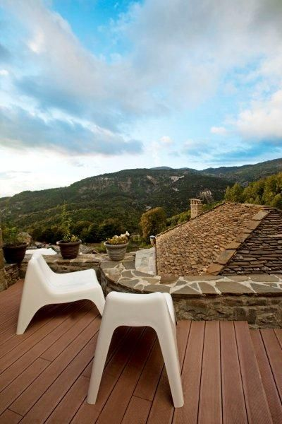 """This summer escape to #Zagorochoria and the unique #MikroPapigo1700 #Hotel & #Spa. Mikro Papigo 1700 Hotel & Spa is not yet another hotel in the area of Zagori. It is the first ever """"green"""" hotel in the whole of Epirus region that has won awards for its consciousness for ecology and combines all that you could ever wish from your selected boutique hotel. http://www.tresorhotels.com/en/offers/290/kalokairinh-eksormhsh-sto-mikro-papigo-1700-hotel-amp-spa"""