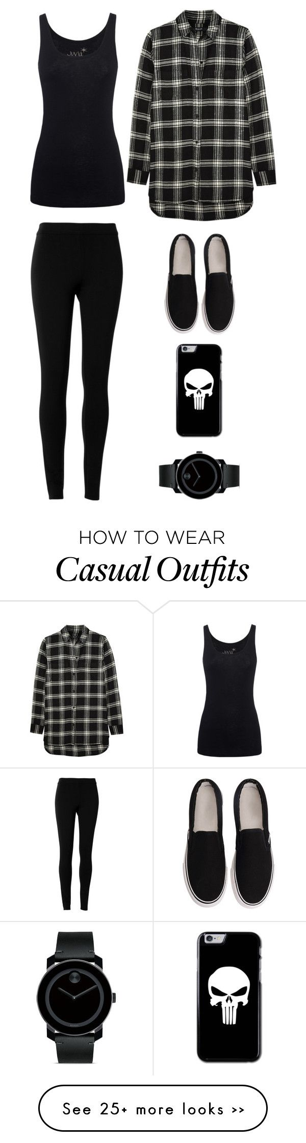 """casual"" by twerkinonmaz on Polyvore featuring Madewell, Juvia, Max Studio and Movado"