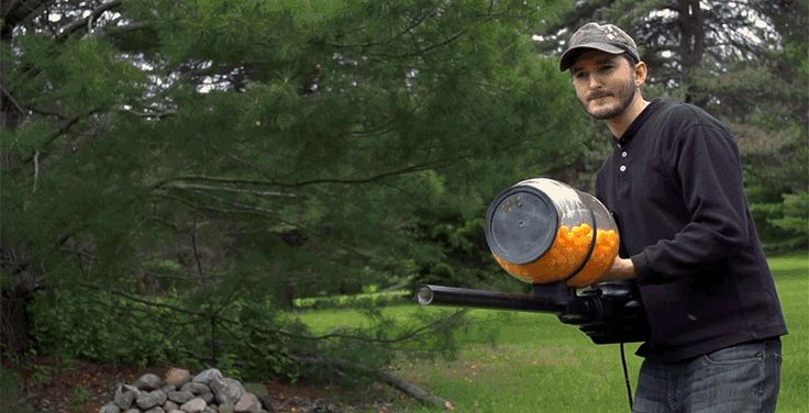 Cheese Ball Cannon Reveals Brilliant Future of Snacking