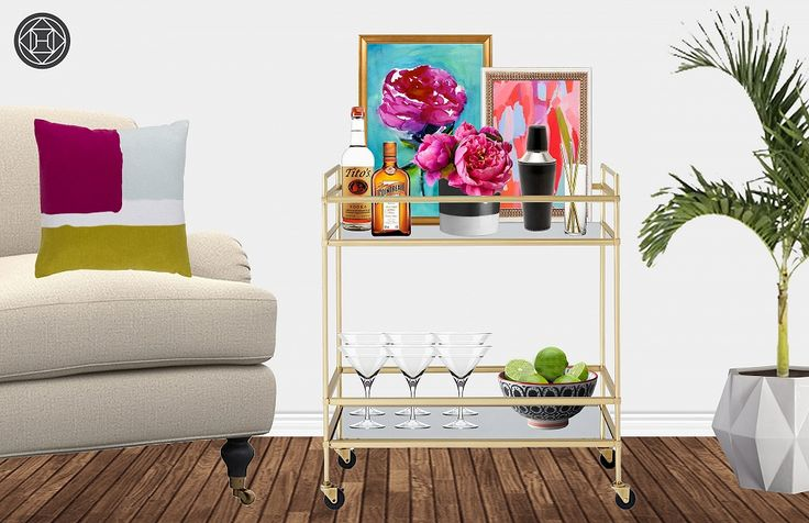Contemporary bar styling. Click through to purchase it all!