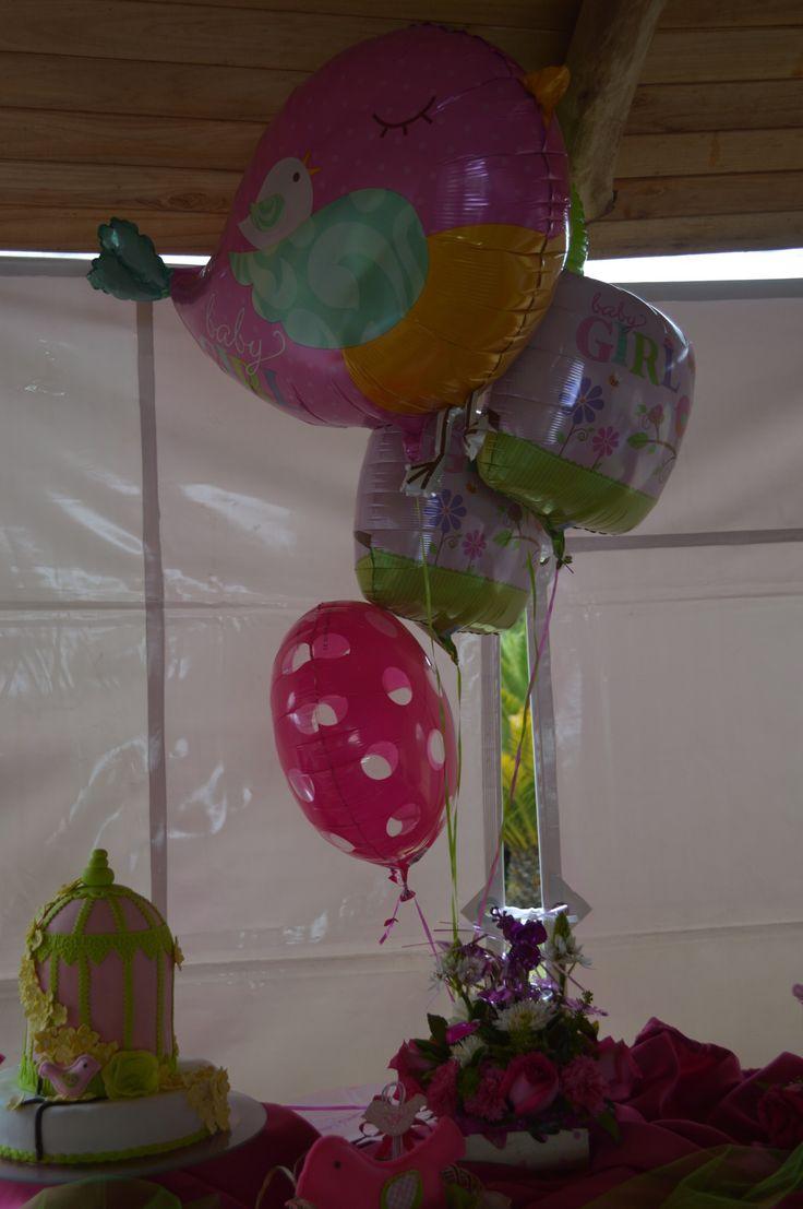 Decoración, globos